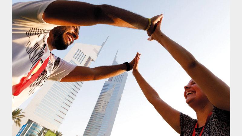 أنشطة كثيرة لتعزيز اللياقة تتيح لكل سكان دبي اتباع نمط حياة أكثر صحة ونشاطاً.  من المصدر