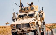 الصورة: تسيير أول دورية أميركية في سورية منذ «الانسحاب»