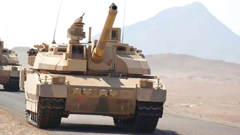 القوات المشتركة تتصدى للحوثيين في أكثر من جبهة. أرشيفية
