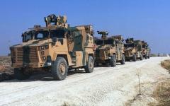 الصورة: بدء الدوريات الروسية التركية المشتركة في شمال شرق سورية