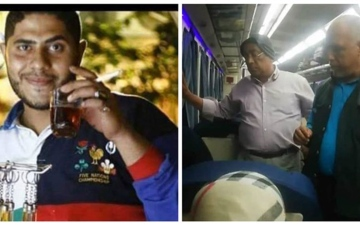 الصورة: تفاصيل جديدة في جريمة «قطار طنطا».. وإحالة الـ«كمسري» للجنايات