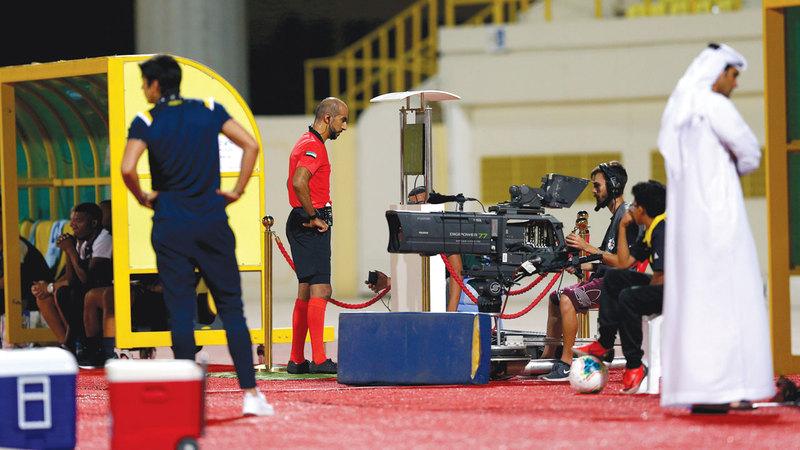 مباراة كلباء وبني ياس شهدت لجوء الحكم إلى تقنية الفيديو 4 مرات. الإمارات اليوم