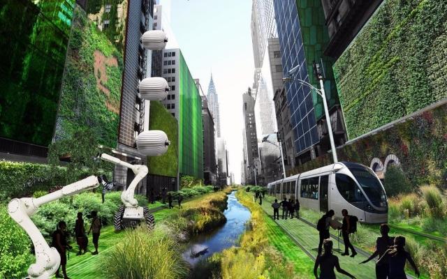 """الصورة: كيف ستبدو الحياة عام 2030 في حال الفوز بمعركة """"المناخ"""""""