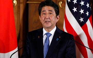 الصورة: حريق في طائرة رئيس وزراء اليابان المتجهة إلى تايلاند