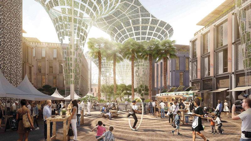 25 مليون زائر متوقع لـ«إكسبو 2020 دبي».  تصوير: باتريك كاستيلو