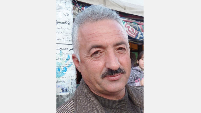 عضو لجنة الدفاع عن أهالي سلوان، فخري أبودياب. أرشيفية