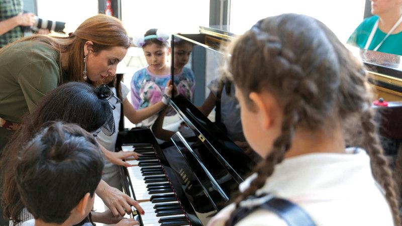 «أساسيات العزف على البيانو» تقدمها تالا توتونجي. من المصدر