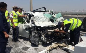 الصورة: حادث مروّع يحوّل عرساً إلى 4 جنازات