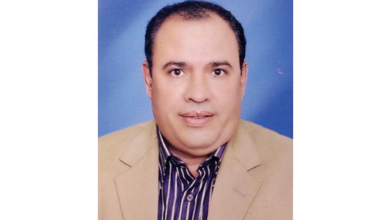 أستاذ علوم الحاسوب المصري محمد السيد بدوي. من المصدر