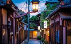 الصورة: حي ياباني يحظر على السياح التقاط الصور