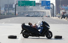الصورة: استراحة في الطريق