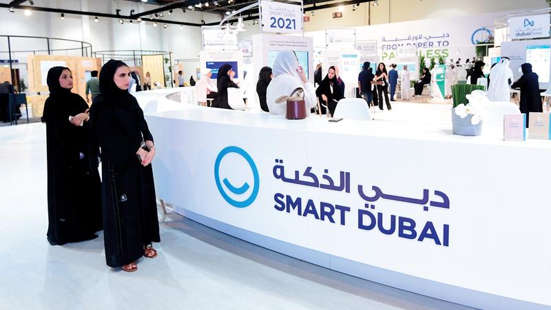 «دبي الذكية» أكدت أن مشروع «سجل الأفراد» يعدّ الأول من نوعه على المستوى العالمي.  تصوير: باتريك كاستيلو