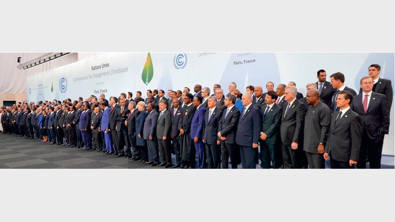 كثير من الدول المصادقة على اتفاقية باريس للمناخ لم تف بالتزاماتها التي قطعتها على نفسها. أرشيفية