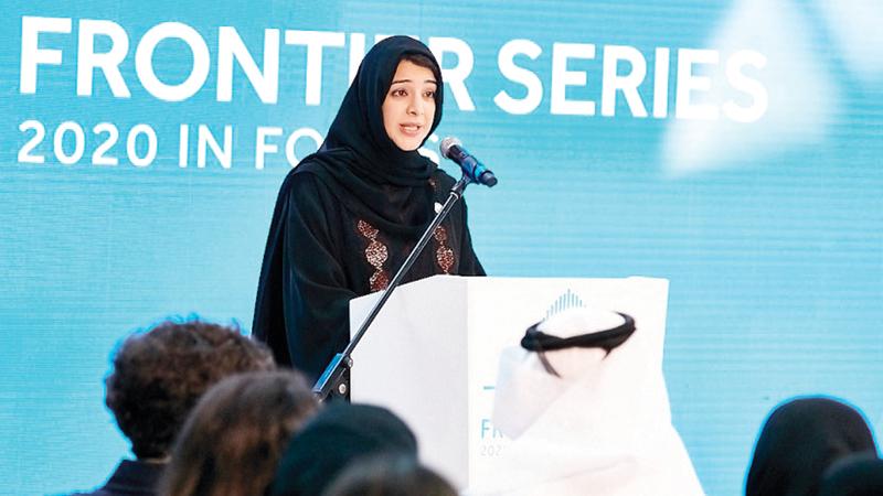 ريم الهاشمي :وزيرة الدولة لشؤون التعاون الدولي مدير عام مكتب «إكسبو 2020 دبي».