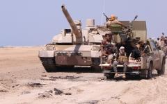 الصورة: مقاتلات التحالف تدمّــر آليات وتحصينات عسكرية للحوثيين في الجوف وحجة