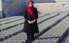 الصورة: مهندسة فلسطينية شابة تغيّر حياة سكان غزة إلى الأفضـل