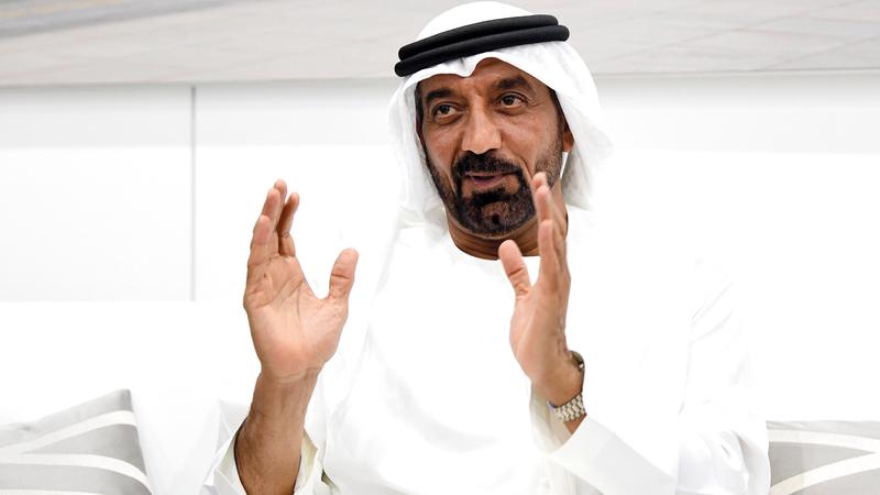 أحمد بن سعيد:  «تركيزنا في مجموعة الإمارات منصب على تطوير أعمالنا والاستثمار في قدرات جديدة تعزز أداء موظفينا».