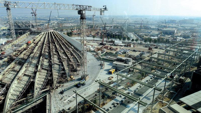 استضافة دبي والإمارات لمعرض «إكسبو» يصبّ في محفظة الإنجازات التاريخية التي حققتها الإمارات. تصوير: باتريك كاستيلو