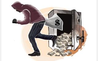 الصورة: «النقض» تعيد محاكمة عصابة سرقت صرافة تحت تهديد السلاح