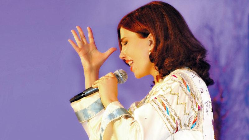 ماجدة الرومي أكدت أن العمل الغنائي يكتسب طابعاً عربياً بمواصفات عالمية. من المصدر
