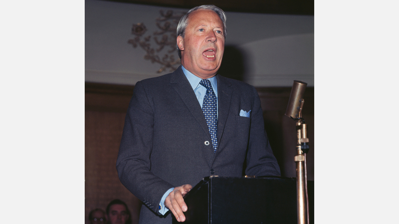 هيث أدخل بريطانيا إلى الاتحاد الأوروبي. غيتي