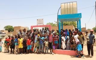 الصورة: «الشارقة الخيرية» تحفر 434 بئراً للمياه في 12 دولة