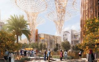 الصورة: «إكسبو دبي» و«فن جميل».. رهان على أهمية المياه في «سبيل 2020»