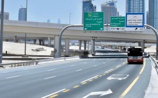الصورة: «طرق دبي» تعتزم زيادة المسارات المخصصة لمرور الحافلات