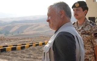 الصورة: ملك الأردن: سيادتنا على أرضنا فوق كل اعتبار