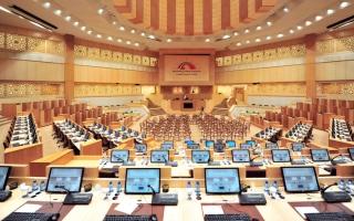 الصورة: اكتمال عقد المجلس الوطني.. والانعقاد الخميس