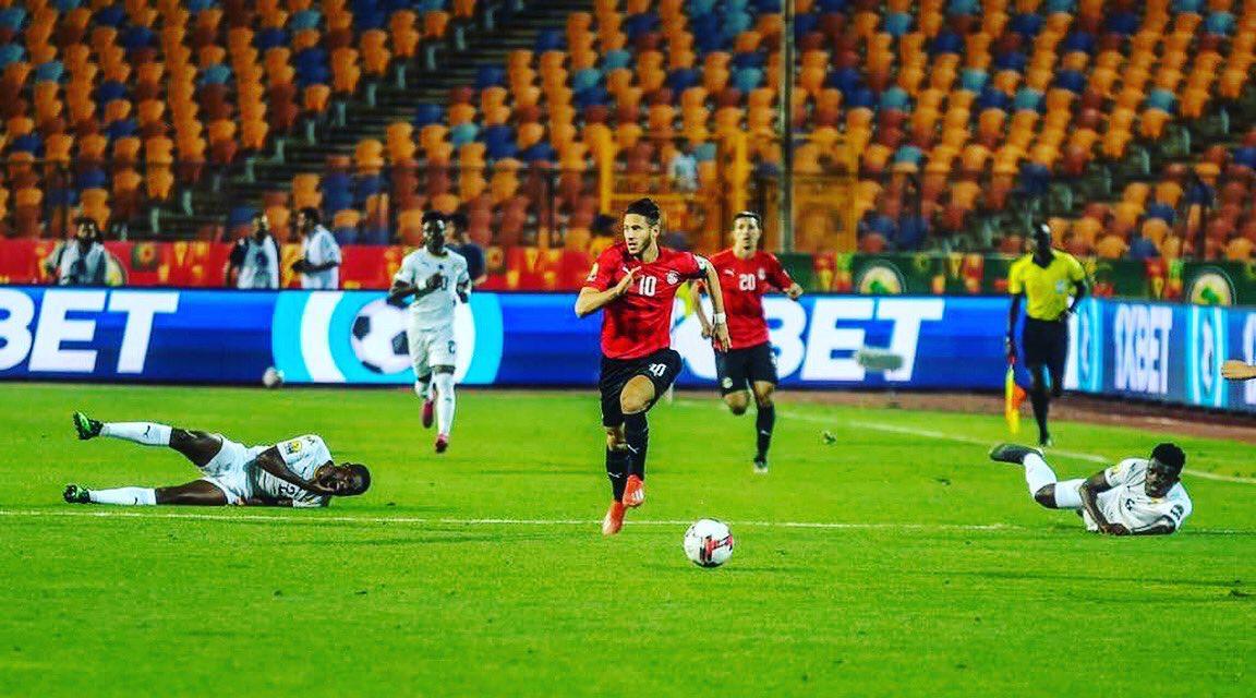 رمضان صبحي نجم المنتخب المصري