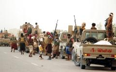 الصورة: الجيش اليمني يحرّر سلسلة جبليـــــة ومواقع جديدة في «خب والشعف» بالجـــوف