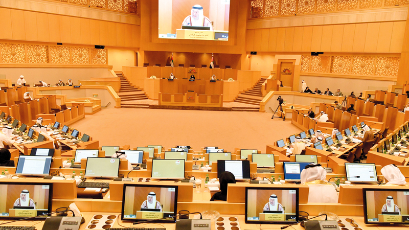«الوطني» يعقد دور انعقاد الفصل التشريعي الـ17 غداً الخميس. أرشيفية