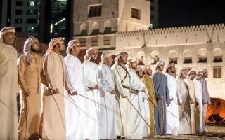 الصورة: «الحصن».. فعاليات تحتفي بالثقافة الإماراتية
