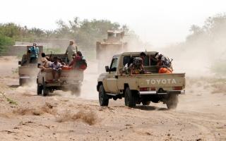 الصورة: مقــاتلات التحالـــف تدمـّر تعزيــزات عسكرية للميليشيـات في صعـدة ومــأرب