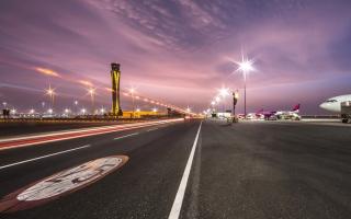 1.3 مليون مسافر عبر مطار آل مكتوم في 9 أشهر