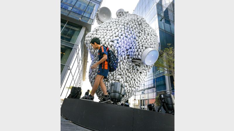 يقدم أسبوع دبي للتصميم المقام في «حي دبي للتصميم» برنامجاً حافلاً هو الأكثر تنوعاً في مسيرته.  تصوير: أشوك فيرما