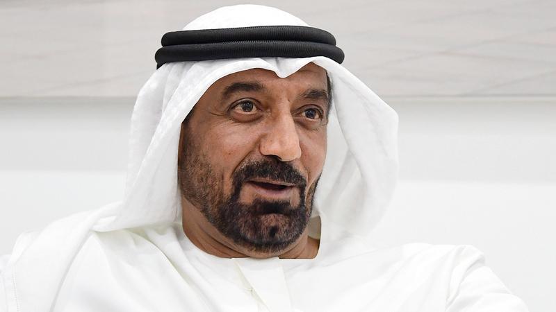 أحمد بن سعيد: «عرض طائراتنا التي تساعد على الترويج لـ(إكسبو 2020) أمام المشاركين في (دبي للطيران)».