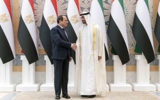 الصورة: الإمارات ومصر.. علاقات تاريخــية ومصير مشترك