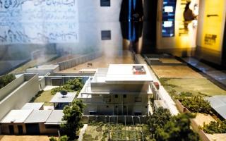 الصورة: معرض في نيويورك يجسِّد مراحل ملاحقة أسامة بن لادن