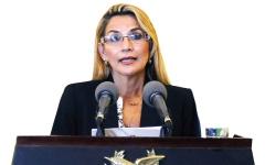 الصورة: الرئيسة الجديدة لبوليفيا سياسية ومحامية