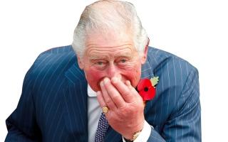 الصورة: الأمير تشارلز يتورط في فضيحة فنية كبرى