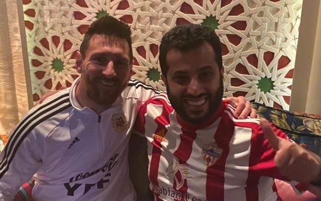 الصورة: بالفيديو.. تركي آل الشيخ يستضيف ميسي في الرياض