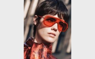 الصورة: النظارات الشمسية..   موضة من الخيال العلمي