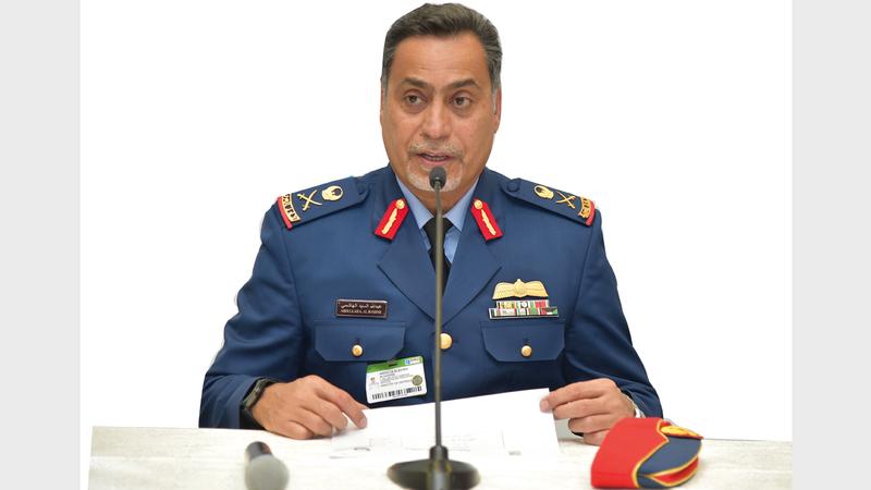 عبدالله الهاشمي: «الدورة الحالية ستكون استثنائية من حيث التنظيم  والحضور وعقد الصفقات التجارية والعسكرية».