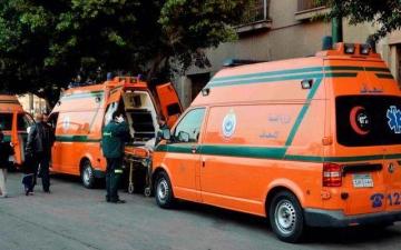 الصورة: حادث مأساوي بالقاهرة.. سيارة مسرعة تقتل وتصيب 11 على الرصيف