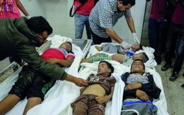 الصورة: عائلة السواركة.. «كبش فداء» حرب الأيام الثلاثة على غزة