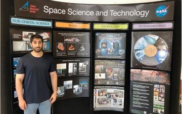 الصورة: رحلة إماراتي بـ «مرتبة الشرف».. من كامبريدج إلى «ناسا»
