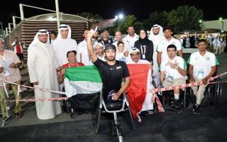 الصورة: القايد: فرحة ذهبية «مونديال أصحاب الهمم» جاءت مضاعفة على أرض الإمارات