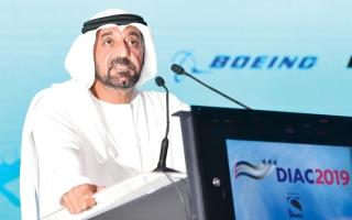 الصورة: أحمد بن سعيد: «دبي للطيران»  أحد أهم نجاحات الإمارة وأكثرها تحدياً